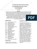 Evolution of Algorithms for Industrial Model Predictive Control (2)
