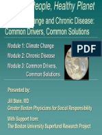 Climate change and diseases