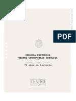 Memoria Historica Teatro UC