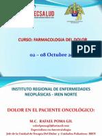 Conferencia Dr Rafael Poma Dolor Oncologico Tratamiento