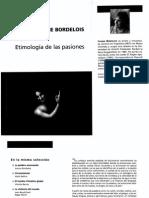 6754-Bordelois, Ivonne - Etimología de Las Pasiones