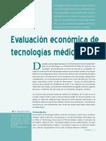 Evaluacion economica de tecnologias medicas