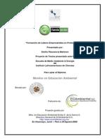 Formación de Líderes Empresariales en Protección Ambiental