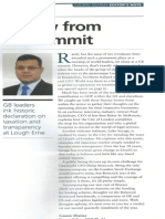 Editor's Note, CFO World, June 2013 Issue by Gaurav Sharma