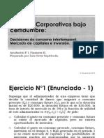 Decisiones de consumo intertemporal, Mercado de Capitales e Inversión.