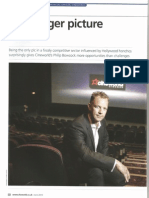 Philip Bowcock, CFO of Cineworld, Exclusive Interview by Gaurav Sharma