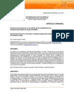 Factores biomecánicos en el estado de las rehabilitaciones  implantosoportadas de carga inmediata