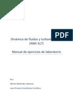 Manual de Prácticas de Laboratorio Dinámica de Fluidos y Turbomáquinas