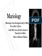 Mariology New