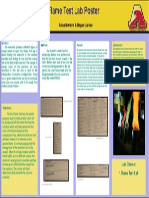 flame test lab poster
