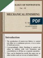 Mechanical finishing of nonwovens.ppt