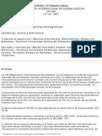 Norma Internacional ISO-690 Referencias Bibliograficas