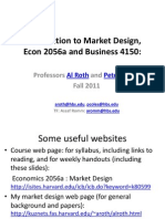 1. Introduction to Market Design.2011