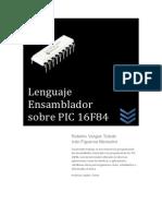 Lenguaje Ensamblador para PIC16F84