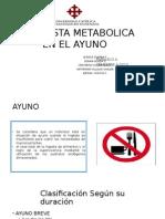 Respuesta Del Metabolismo Del Ayuno