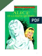 Caroline Quine Alice Roy 14 IB Alice et la statue qui parle 1937.doc
