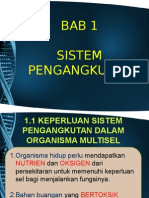 Bab 1.1 Keperluan Sistem Pengangkutan Dalam Organisma Multisel