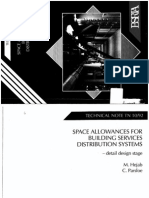 Space Allowances for Building Services Distribution Systems