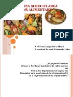 Prelucrarea Şi Reciclarea Produselor Alimentare