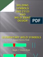 ISO 2553 Weld Symbols