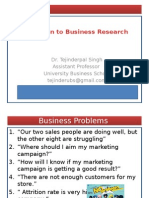 1Introto business research