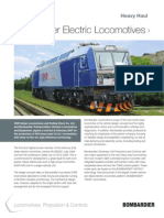 High Power Electric Locomotives