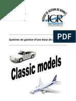 SGBD -Classic Models