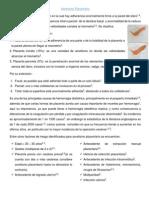 Acretismo Placentario y Retención de Retos Placentarios