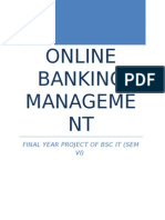 Online Banking Management