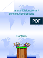 Functional and Dysfunctional Conflicts