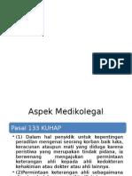 aspek medikolegal