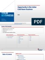 Opportunity in the Indian Cold Room Business_Feedback OTS_2015