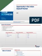 Oppurtunity in the Indian Dyestuff Market_Feedback OTS_2015