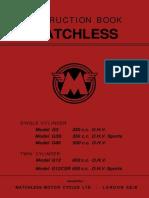 1964 Matchless Manual