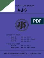 1963 AJS Manual