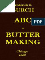 ABC - Butter Making by Fredrick S. Burch
