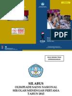 Buku Silabus Osn 2015 smp