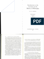 Hegel, Relation of the History of Philosophy to the Rest of the Manifestations of the Spirit