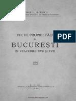 Vechi Proprietati in Bucuresti