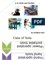 Safety in Tools, Tackles and Material Handling