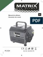 645 Generator PG820
