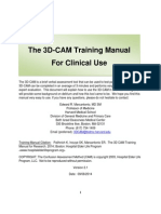 3D-CAM Training Manual Clinical for Website Version 2.1 Final 9-8-14