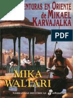 Aventuras en Oriente de Mikael - Mika Waltari