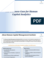 The Business Case for Human Capital Analytics