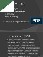 Curriculum 1968