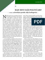 Nihad Halilbegović - Kakvi trebaju biti naši političari. Neke zaboravljene poruke Alije Izetbegovića