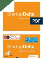 StartupDelta presentatie 14 en 15 Jan
