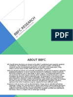 BBFC Research Powerpoint