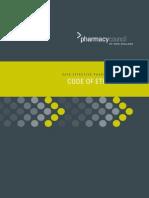 Code Othics Pharmacist New Zealand
