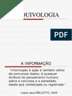 (2) ARQUIVOLOGIA - PROF. ANDRÉA